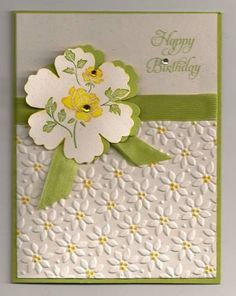 Flowers for you! by trackscrapper - Cards and Paper Crafts at Splitcoaststampers