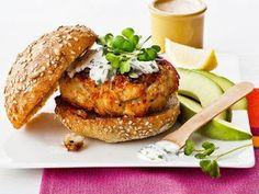Healthy Crab Cake Burgers ~ Lisa's Recipes
