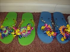 Armor of God: VBS Crafts Shoes shed with gospel (We are doing this 2012)