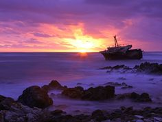 Cape Agulhas at Sunset, South Africa