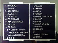 Setlist - Titãs 30 anos - 06.10.12 @ Espaço das Américas
