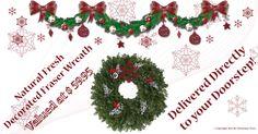 Fresh Cut Christmas Trees, Christmas Wreaths, Giveaway, Facebook, Holiday Decor, Christmas Swags, Holiday Burlap Wreath, Advent Wreaths