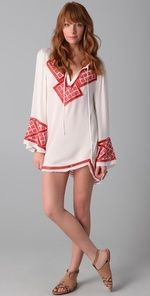 Haute Hippie  Embroidered Dress  $365.00