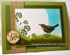 Little Birdie For You – Stampin' Up! Card and Canning Beets |