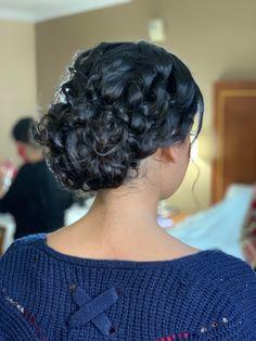 Bridesmaids Hairstyles, Bridesmaid Hair, Crochet Necklace, Hair Styles, Fashion, Hair Plait Styles, Moda, Fashion Styles, Hair Makeup