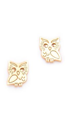 Aww these @GorjanaGriffin Owl Stud Earrings are so cute