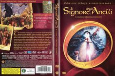 Il Signore degli Anelli (The Lord of the Rings, 1978) by Ralph Bakshi, Dvd cover Ita (3191x2124)