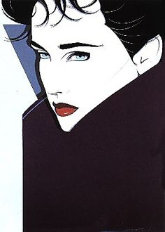 Artwork by Patrick Nagel #Nagel