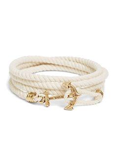 Kiel James Patrick Lanyard Hitch Cord Bracelet - Brooks Brothers - $40
