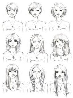 Não é que você não goste de cabelo curto, mas seria legal poder variar.
