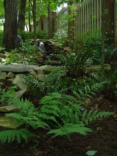 Water Feature, Rock Work And Landscape Design By Andyu0027s Landscape Service  In Birmingham, AL. | Water Features And Dry Creek Beds | Pinterest | Water  ...