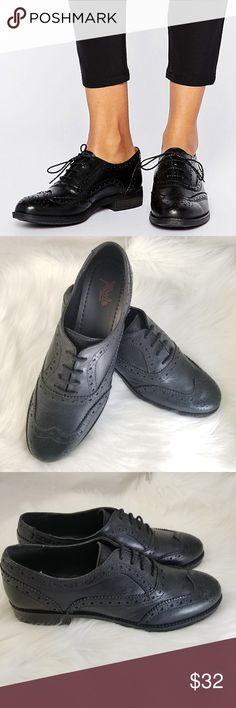 49449e07197 new asos RULE LONDON Leather Brogues Wingtips New. RULE LONDON.  78 retail  from Asos
