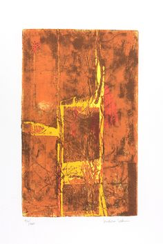VARIAZIONE GIALLA Serigrafia di Isidoro Cottino stampata su carta Tintoretto Neve 300gr/mq formato 50x70 - 12 colori 120 copie in numeri arabi e 35 in cifre romane Stampatore SERI-GRAFICA di Maurizio Rivetti - Cambiano (TO)  In mostra fino al 15 Gennaio, presso InsideMind, Via Alba 53 Cuneo