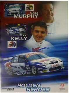 Australian V8 Supercars, Touring, Race Cars, Super Cars, Racing, Baseball Cards, Poster, Drag Race Cars, Running