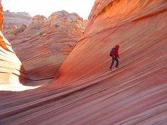 "Must go here. Utah. ""The Wave"" by ocelots, via Flickr"
