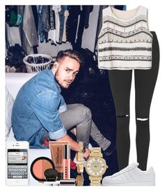 """""""Date With Liam"""" by hazzgirl03 ❤ liked on Polyvore featuring beauty, Topshop, adidas, LORAC, Michael Kors and Charlotte Russe"""