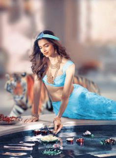 Deepika Padukone as Jasmine by PutoMikel
