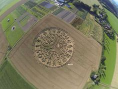 Truly Mind-Boggling New CROP CIRCLE In The UK Amazes Researchers