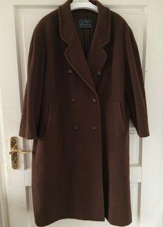 Kaufe meinen Artikel bei #Kleiderkreisel http://www.kleiderkreisel.de/damenmode/mantel/122613306-vintage-oversize-wintermantel-mantel-kaschmir-cashmere-wolle-braun