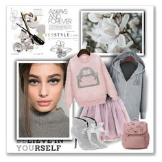 """""""Yesstyle"""" by sneky ❤ liked on Polyvore featuring moda, Olympia Le-Tan, Axixi, Mojo Moxy, Roberto Coin, women's clothing, women's fashion, women, female e woman"""