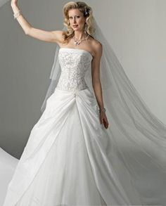 wedding dresses?a line wedding dresses lace?wedding dresses vintage style a-line/princess strapless chapel train wedding dress for brides 2014 style