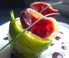 Figs with cured duck breast - by Carina http://pinterest.com/ahaishopping/