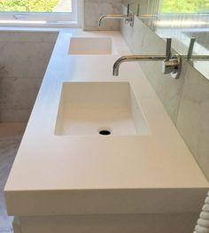 Corian® Glacier White Corian, Sink, Home Decor, Marble, Sink Tops, Vessel Sink, Decoration Home, Room Decor, Vanity Basin