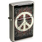 S35 Peace Sign S2 Refillable Butane Torch Lighter - 2 3/4 Inch - See Video! - Butane, INCH, Lighter, Peace, Refillable, Sign, Torch, Video