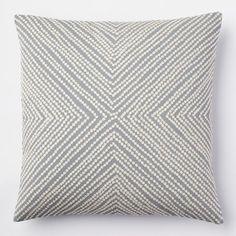 Diamond Dot Crewel Pillow Cover - Golden Gate | West Elm THE GREEN DOT PILLOW SOLD OUT