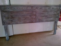 Rustic French Grey headboard