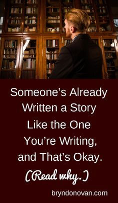 There is no such thing as a new story. Butt your voice and take can be utterly unique making the story fresh xkx