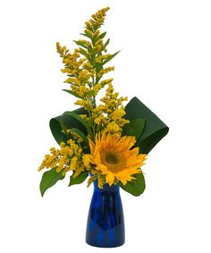 Order Simply Sunflower - from Flowers By Susan, your local Port St Lucie florist. For fresh and fast flower delivery throughout Port St Lucie, FL area. Sunflower Arrangements, Sunflower Bouquets, Sunflower Flower, Floral Arrangements, Flower Delivery Service, Same Day Flower Delivery, Fast Flowers, Summer Flowers, St Lucie