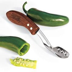Jalapeno Corer, Pepper Corer Tool. This would come in handy when I make my jalapeño poppers!