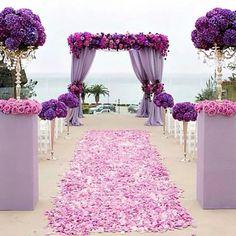 Se parece a la alfombra de petalos de rosas azul en el cap:64