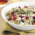 Use the vinagrette in this recipe for a cold salad. Can also be made with pasta