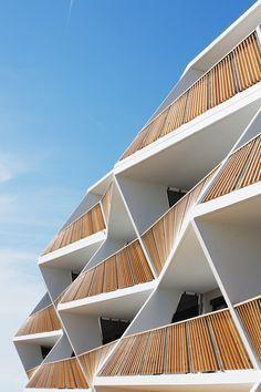 Wohnungsbau in Graz von Love architecture / Latten-Boogie-Woogie - Architektur und Architekten - News / Meldungen / Nachrichten - BauNetz.de...