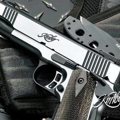 Kimber 1911 Eclipse Target II    Purchased a family air-loom