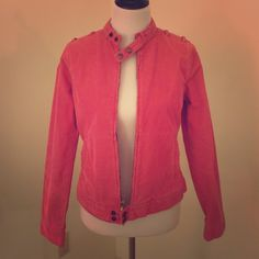 Lucky Brand Corduroy Jacket Pink corduroy jacket. In used , good condition! Vintage style Lucky Brand Jackets & Coats