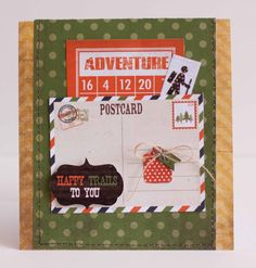 Simple Stories - Take a Hike - journaling card pocket?