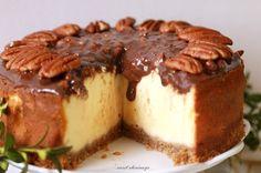 sweet cherimoya: Wielkanocny sernik z orzechami pekan
