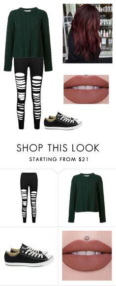 """Untitled #519"" by geekyprincess16 ❤ liked on Polyvore featuring Ryan Roche and Converse"