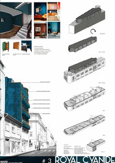 BUILDING REHAB IDEA COMPETITION - Project presentation panel - #noarq #competition by José Carlos Nunes de Oliveira - © NOARQ - Photography by NOARQ