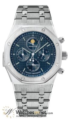 Audemars Piguet Royal Oak Limited Edition Grand Complication Men's Watch, 18K White Gold, Blue Dial, 25865BC.OO.1105BC.01   Jet sarcarstic :)  It is on sale toady, (7/3/15) Hope no on missed the 10% sale. the already regular low .Watchesonnet price  today's price,  only, $607,000.00