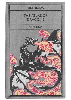 A.J. Hateley: The Atlas of Dragons Skyrim Novel