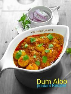 Indian Recipes How to make Dum Aloo (Super Easy & Instant recipe) Aloo Recipes, Chutney Recipes, Potato Recipes, Easy Indian Recipes, Ethnic Recipes, Indian Cookbook, Fried Fish Recipes, Instant Recipes, Indian Kitchen