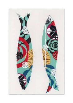 Paper Quilt, Wood Fish, Fish Logo, Beyond Beauty, Sea Art, Creative Illustration, Fish Art, Farm Animals, Design Inspiration