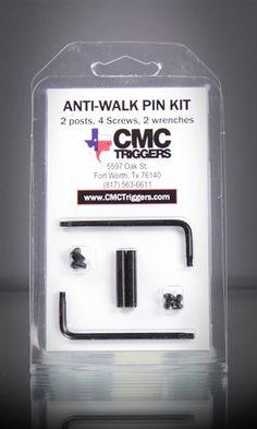 CMC Anti-Walk Pin Kit-Set of (2) .154 pins for AR15 Hammer & Trigger