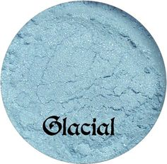 Ice Blue Eyeshadow GLACIAL Mineral makeup by SpectrumCosmetic, $3.00