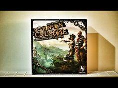 ▶ Robinson Crusoe - Brettspiel Review #11 (german with english subtitles)