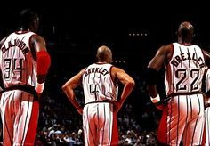 1994/1995 NBA Champs. The Houston Rockets win their first NBA championship, defeating the New York Nicks.